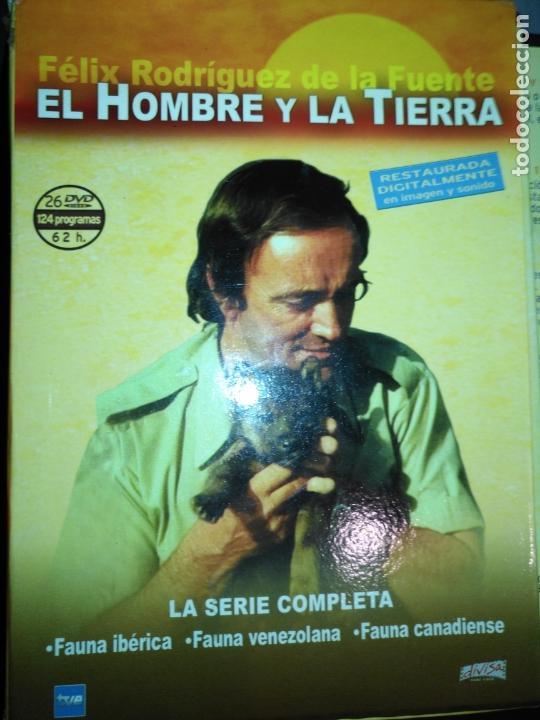 Series de TV: FAUNA IBERICA EL HOMBRE Y LA TIERRA FELIX RODRIGUEZ DE LA FUENTE COLECCION COMPLETA 26 DVD - Foto 3 - 171828398