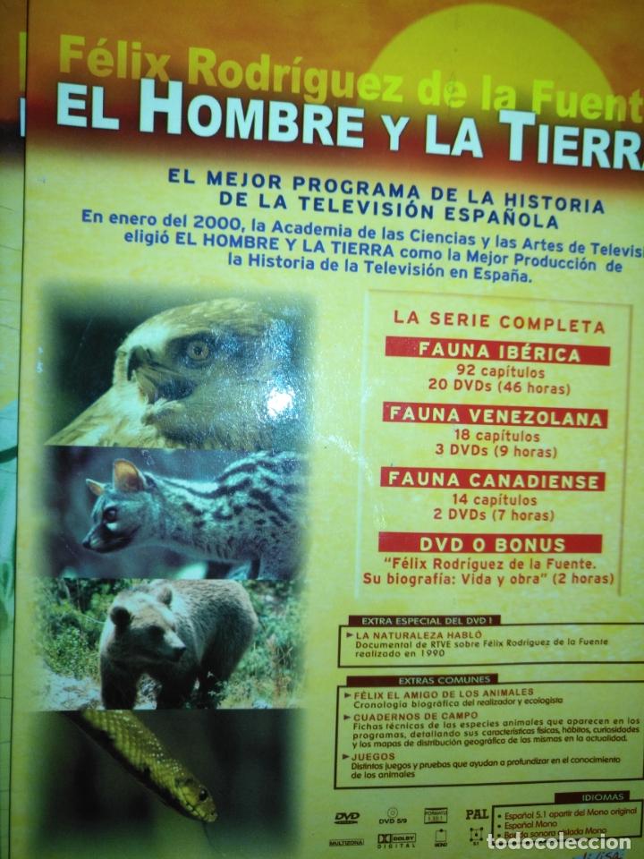 Series de TV: FAUNA IBERICA EL HOMBRE Y LA TIERRA FELIX RODRIGUEZ DE LA FUENTE COLECCION COMPLETA 26 DVD - Foto 6 - 171828398