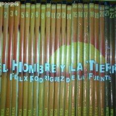 Series de TV: FAUNA IBERICA EL HOMBRE Y LA TIERRA FELIX RODRIGUEZ DE LA FUENTE COLECCION COMPLETA 26 DVD. Lote 171828398