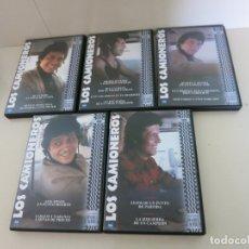 Séries de TV: LOS CAMIONEROS (SERIE COMPLETA - 5 DISCOS) - MARIO CAMUS SANCHO GRACIA DVD DESCATALOGADA. Lote 172386995