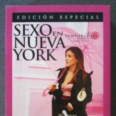 Series de TV: SEXO EN NUEVA YORK TEMPORADA 6 EDICIÓN ESPECIAL. Lote 172594552
