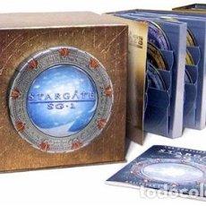 Series de TV: STARGATE SG-1: LA SERIE COMPLETA 58 DVDS - TEMPORADAS 1-10 DESCATALOGADA. Lote 172788644