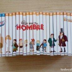 Series de TV: ERASE UNA VEZ EL HOMBRE - SERIE COMPLETA EN 26 DVD. Lote 173455102