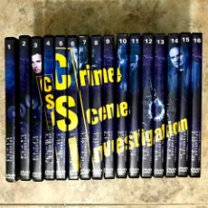 Series de TV: CSI LAS VEGAS 1ª Y 2ª TEMPORADA COMPLETA 16 DVD. Lote 173456120