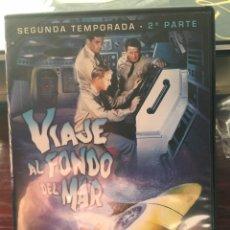 Series de TV: VIAJE AL FONDO DEL MAR-SEGUNDA TEMPORADA 2 PARTE-IRWIN ALLEN-3 DVD. Lote 173473413