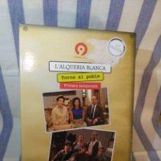 Series de TV: PRIMERA TEMPORADA L'ALQUERÍA BLANCA,5 DVDS. Lote 173604164