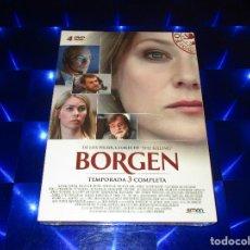 Series de TV: BORGEN ( TEMPORADA 3 COMPLETA ) - 4 DVD - EMON - PRECINTADO. Lote 174090445
