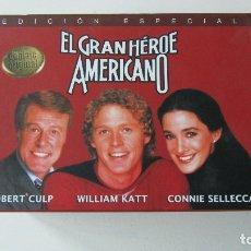 Séries TV: PACK EL GRAN HÉROE AMERICANO DVD. Lote 183507341