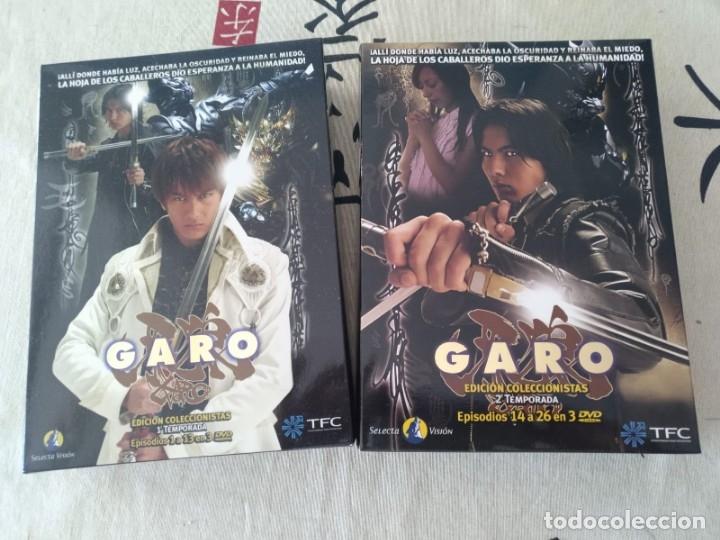 GARO SERIE COMPLETA EDICIÓN COLECCIONISTAS 12 DVD SELECTA VISION (Series TV en DVD)