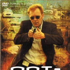 Series de TV: CSI: MIAMI TEMPORADA CUATRO EPISODIOS 4.1 - 4.12 (3 DVD). Lote 216415030