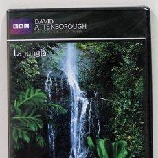 Series de TV: LA JUNGLA / LOS DESAFIOS DE LA TIERRA / DAVID ANTTENBOROUGH / PRECINTADO. Lote 175205850