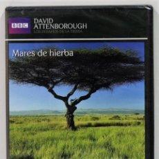 Series de TV: MARES DE HIERBA / LOS DESAFIOS DE LA TIERRA / DAVID ANTTENBOROUGH / PRECINTADO. Lote 175205945
