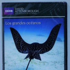 Series de TV: LOS GRANDES OCEANOS / LOS DESAFIOS DE LA TIERRA / DAVID ANTTENBOROUGH / PRECINTADO. Lote 175206244