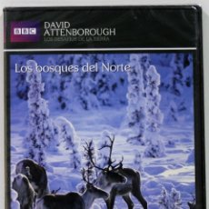 Series de TV: LOS BOSQUES DEL NORTE / LOS DESAFIOS DE LA TIERRA / DAVID ANTTENBOROUGH / PRECINTADO. Lote 175206584
