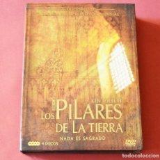 Series de TV: LOS PILARES DE LA TIERRA - NADA ES SAGRADO - EDICION DE LUJO - 4 DVD + 6 POSTALES - VER FOTOS. Lote 175439525