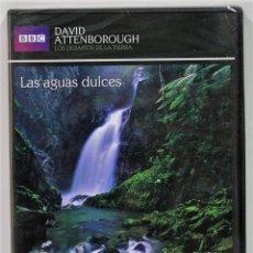 Series de TV: LAS AGUAS DULCES / LOS DESAFIOS DE LA TIERRA / DAVID ANTTENBOROUGH / PRECINTADO. Lote 175531947