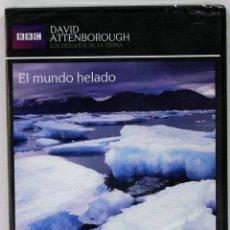Series de TV: EL MUNDO HELADO / LOS DESAFIOS DE LA TIERRA / DAVID ANTTENBOROUGH / PRECINTADO. Lote 175532173