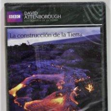 Series de TV: LA CONSTRUCCION DE LA TIERRA / LOS DESAFIOS DE LA TIERRA / DAVID ANTTENBOROUGH / PRECINTADO. Lote 175532495