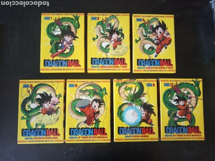 DVD. DRAGON BALL. SERIE COMPLETA. BOX 1-7. SELECTA VISIÓN. COMO NUEVA. (Series TV en DVD)