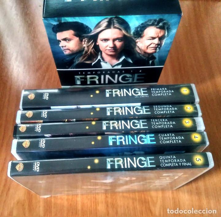 FRINGE - COMPLETA: TEMPORADAS 1-5 - DVD
