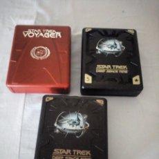 Series de TV: STAR TREK,DEEP SPACE NINE,DOS TEMPORADAS,ESPACIO PROFUNDO 5 Y 6 DESCATALOGADAS Y VOYAGER.. Lote 175806179