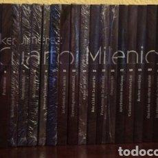 Series de TV: CUARTO MILENIO. 25 DVDS CON SUS LIBRITOS ( COMPLETA ) ALGUNOS PRECINTADOS.. Lote 175868114