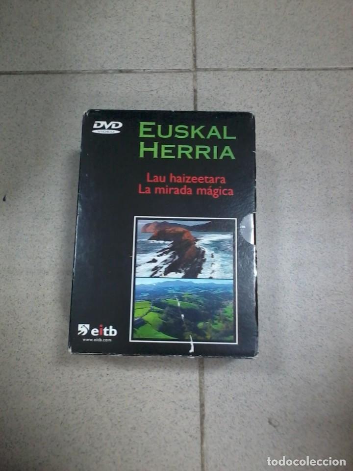 EUSKAL HERRIA LA MIRADA MÁGICA COMPLETO 4XDVD (Series TV en DVD)