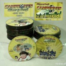 Series de TV: COMPLETAS DVD-OLIVER Y BENJI CAMPEONES-32 CAPTAIN TSUBASA + 13 HACIA EL MUNDIAL-SERIE ANIME FUTBOL. Lote 176072013