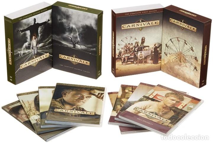 CARNIVALE (SERIE DE TV) SERIE COMPLETA NUEVA DESCATALOGADA (Series TV en DVD)
