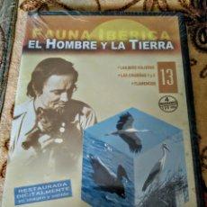 Series de TV: EL HOMBRE Y LA TIERRA. NÚMERO 13 PRECINTADA. FAUNA IBERICA. Lote 176277022