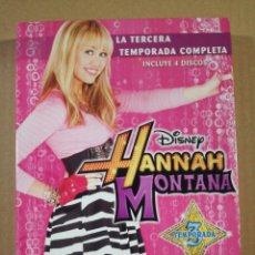 Serie di TV: HANNAH MONTANA 3 TEMPORADA. Lote 190989396