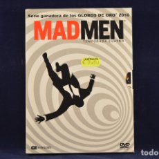 Series de TV: MAD MEN - TEMPORADA 4 - 4 DVD SERIES. Lote 176973430