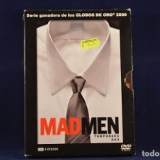 Series de TV: MAD MEN - TEMPORADA 2 - 4 DVD SERIES. Lote 176973487