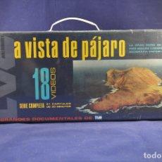 Series de TV: A VISTA DE PÁJARO - 18 DVD DOCUMENTAL. Lote 177124158
