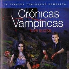 Series de TV: CRÓNICAS VAMPÍRICAS LOVE SUCKS TERCERA TEMPORADA COMPLETA ( 5 DISCOS). Lote 177272454