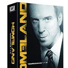 Series de TV: PACK HOMELAND TEMPORADAS 1 Y 2 DVD. Lote 177309553
