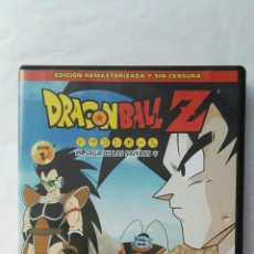 Series de TV: DRAGONBALL Z LA SAGA DE LOS SAIYANS DVD. Lote 177316057