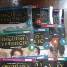 Series de TV: DVD ORGULLO Y PREJUICIO PRECINTADOS FALTA EL DVD 8 JANE AUSTEN. Lote 177392022