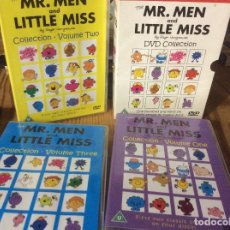 Series de TV: THE MR MEN & LITTLE MISS COLLECTION DVD 12 DVD 140 HISTORIAS. Lote 177429984