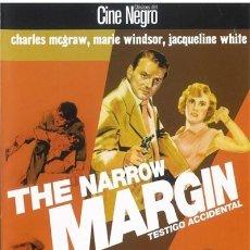 Séries TV: THE NARROW MARGIN (TESTIGO ACCIDENTAL). Lote 177444588