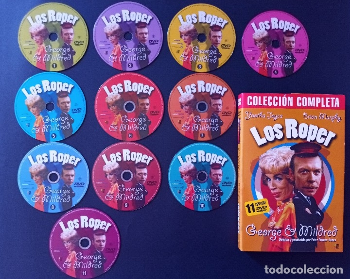 CTC - LOS ROPER SERIE COMPLETA EN 11 DVD - LAS 5 TEMPORADAS - GEORGE Y MILDRED (Series TV en DVD)