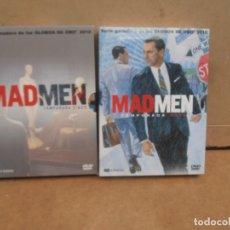 Series de TV: MAD MEN. TEMPORADAS - 5 Y 6 (8 DVD). Lote 177673077