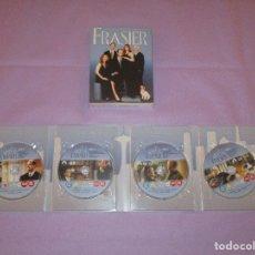 Series de TV: FRASIER ( LA CUARTA TEMPORADA COMPLETA ) - DVD - 4 DISCOS - 49896 - PARAMOUNT . Lote 177897742