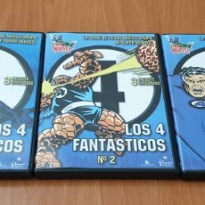 Series de TV: LOTE 3 DVDS LOS 4 FANTASTICOS. Lote 178144788