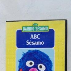 Series de TV: BARRIO SÉSAMO ABC CONOCER LAS LETRAS COCO DVD. Lote 178609163