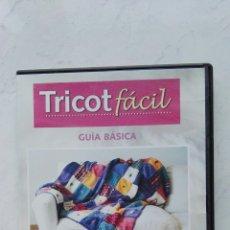 Series de TV: TRICOT FÁCIL DVD TRICOTAR PASO A PASO. Lote 178629833