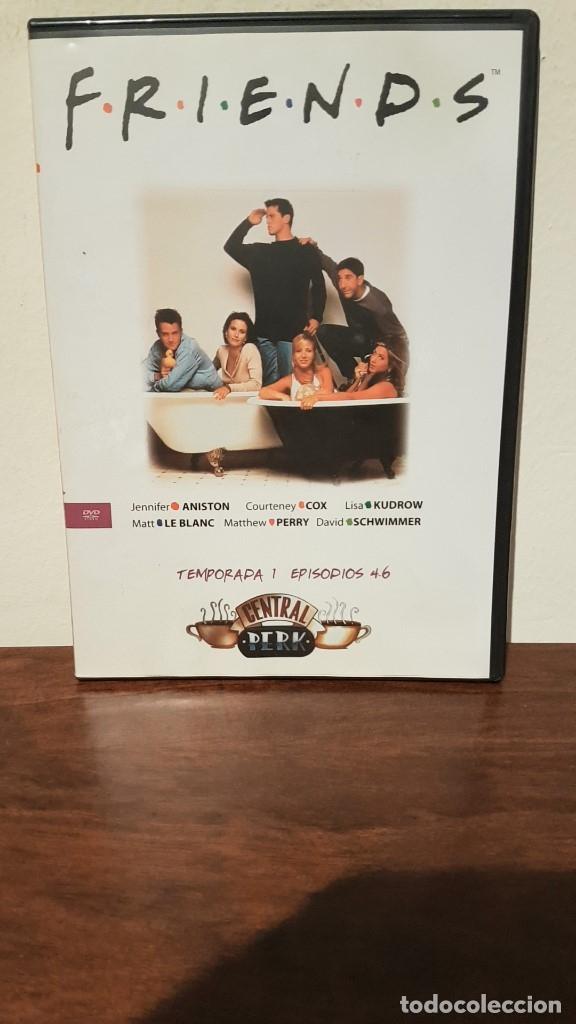 FRIENDS, PRIMERA TEMPORADA, EPISODIOS 4, 5 Y 6. (Series TV en DVD)