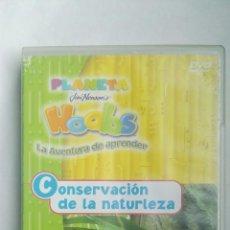 Series de TV: PLANETA HOOBS LA AVENTURA DE APRENDER DVD CONSERVACIÓN DE LA NATURALEZA. Lote 179048827