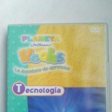 Series de TV: PLANETA HOOBS LA AVENTURA DE APRENDER DVD TECNOLOGÍA INFANTIL. Lote 179048973