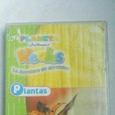 Series de TV: PLANETA HOOBS LA AVENTURA DE APRENDER DVD PLANTAS INFANTIL. Lote 179049090